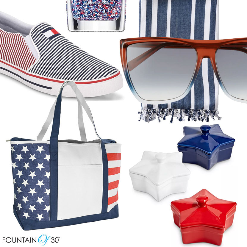 4th of july items red white blue fountainof30