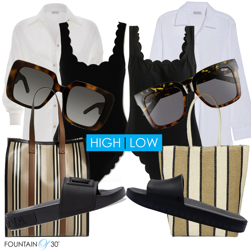 beach outfit high low style fountainof30