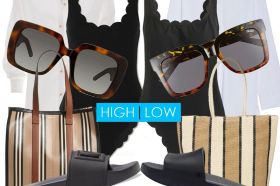 How To Style A Chic Beach Outfit High Low