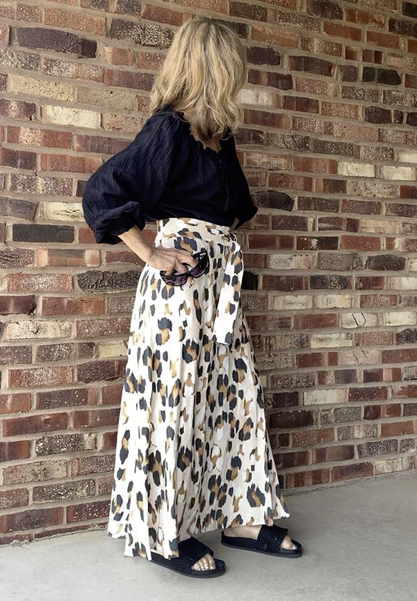 leopard skirt summer chic fountainof30