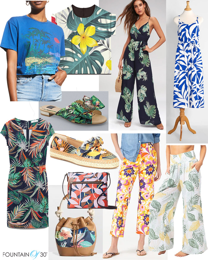 tropical prints summer fashion fountainof30