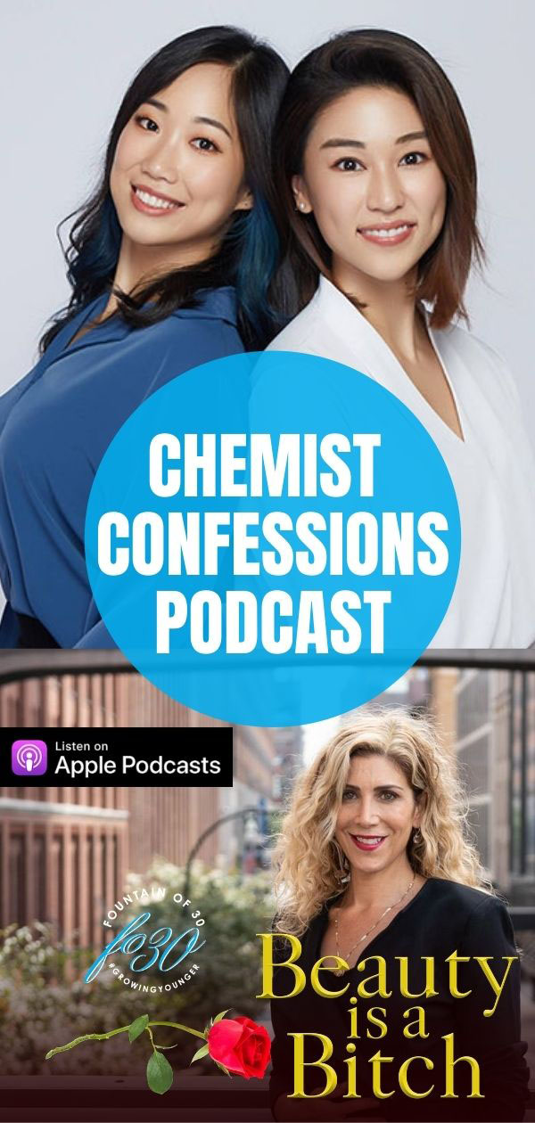 chemist confessions beauty myths podcast