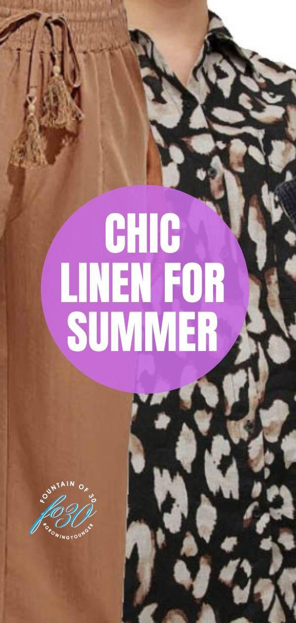 linen fashion summer 2021 fountainof30