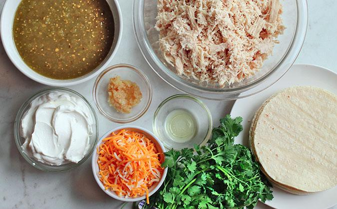 salsa verde chicken enchiladas ingredients fountainof30