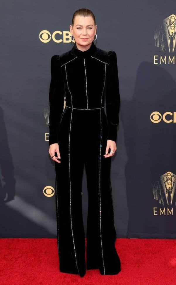 black jumpsuit emmys 2021 fashion