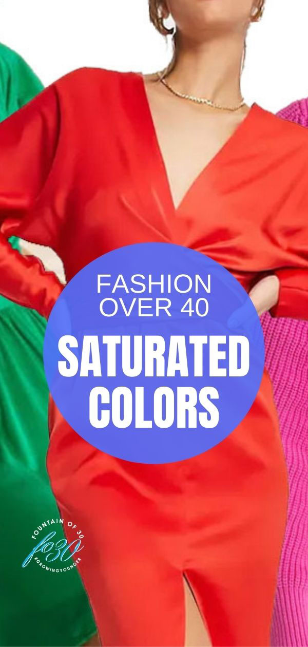 saturated colors fashion over 40 fountainof30