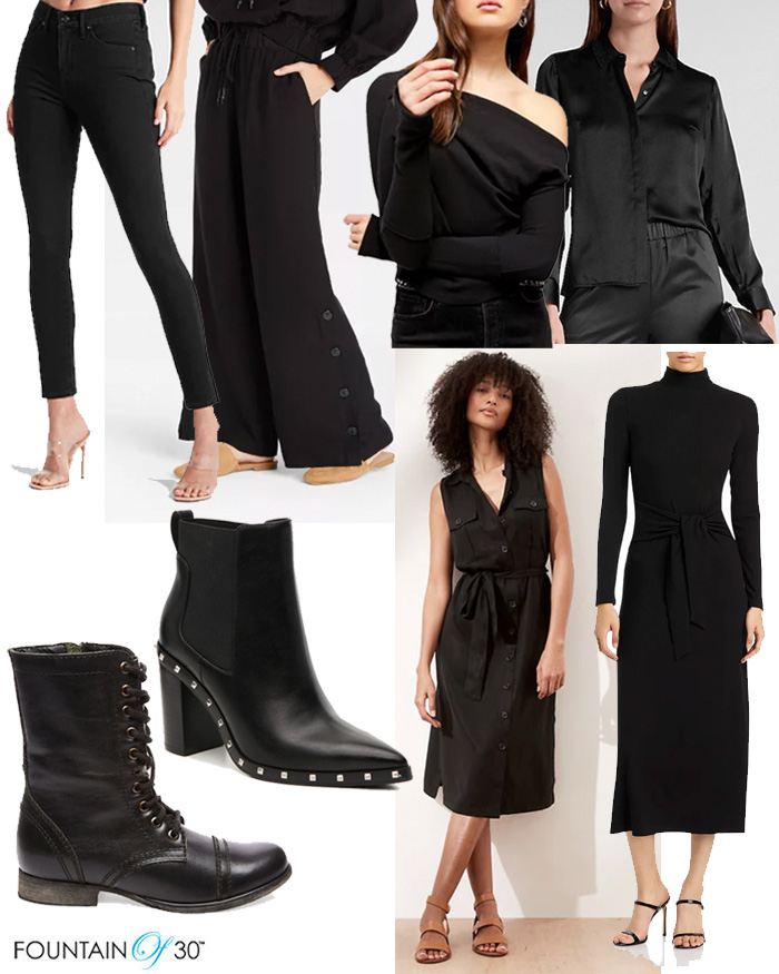 alll black outfits fountainof30