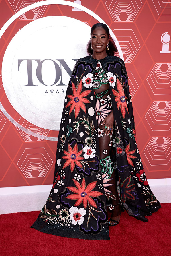 Celebrities In Showstopping Gowns Amber Iman