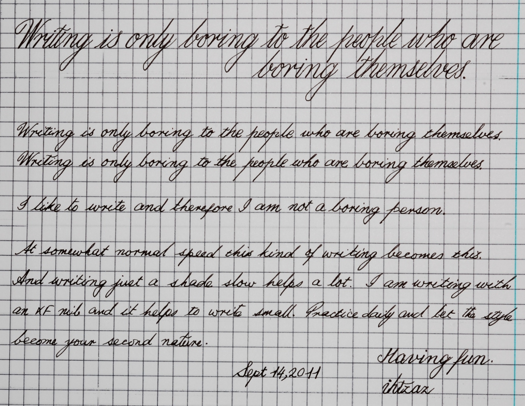 Fun With Handwriting Practice