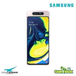 galaxy a80 gold back front