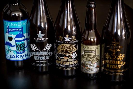 Mikkeller and AleSmith Beers