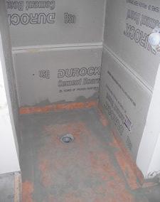 washington dc shower pan and