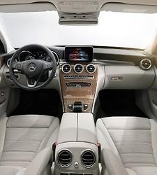 La Clase C elegida Coche Mundial 2015-Mercedes-ClaseC