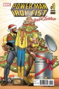 Power Man and Iron Fist Sweet Christmas (2016) Annual 1 (Von Eeden Variant)