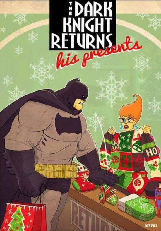 The Dark Knight Returns His Presents