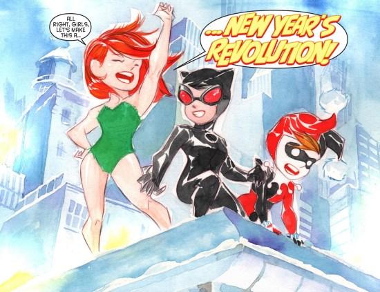 New Year's Revolution!