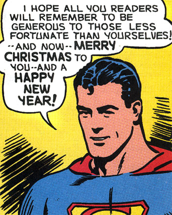 Merry Christmas from Superman