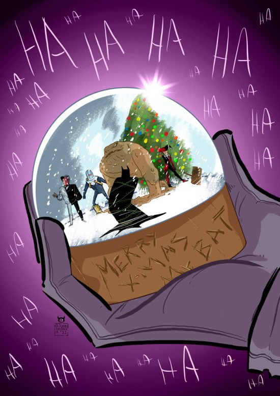 The Clown and his Snow Globe