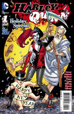 Harley Quinn Holiday Special (2014) (New Year's cover)