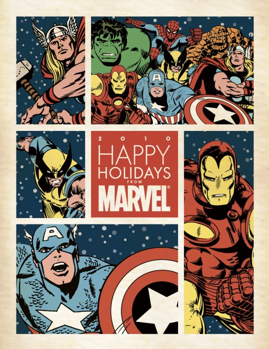 Marvel 2010 card