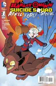 Harley Quinn and the Suicide Squad April Fools' Special (2016) 1 (Sean Galloway Variant)