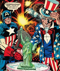 Marvel Treasury Special Featuring Captain America's Bicentennial Battles (1976) 1 back cover