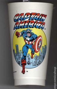 1975 Captain America Slurpee Cup (slim style)