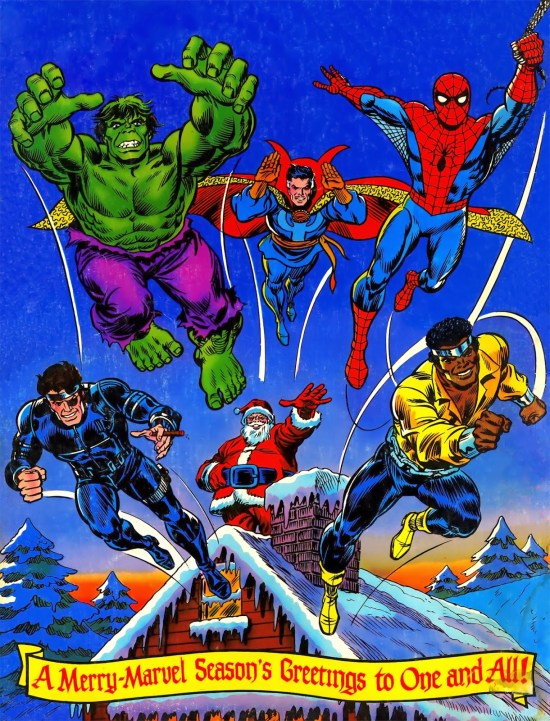 A Merry-Marvel Season's Greetings to One and All!