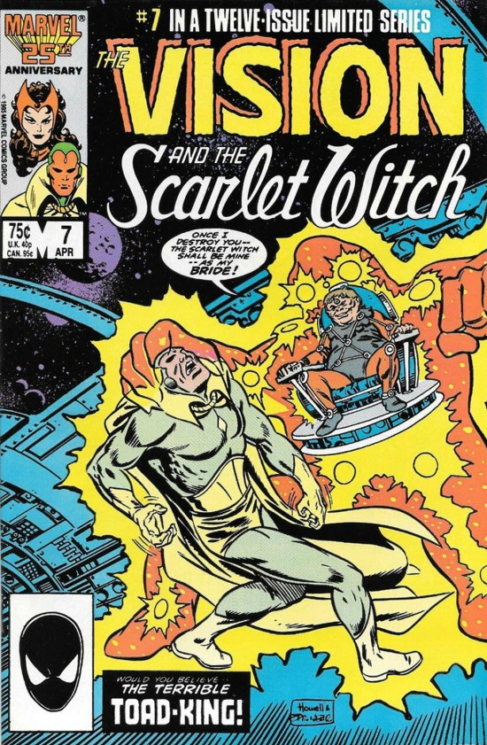 The Vision and the Scarlet Witch (1986) 7