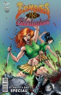 Zombies vs Cheerleaders: St. Patty's Day Special (2015) 1 Jason Metcalf & Jeff Balke cover