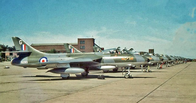 IV Sqn Hunters at Jever