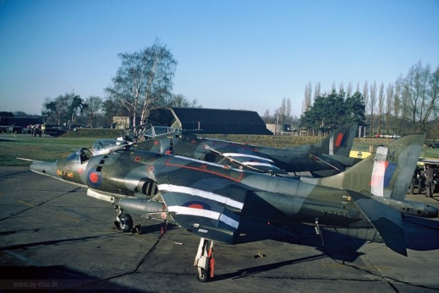XZ131 at Gutersloh in 1977. Photo: Spotters Group Gutersloh