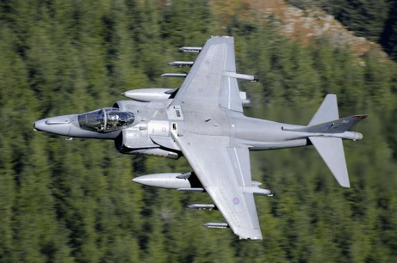 Harrier GR9 by David Chapman