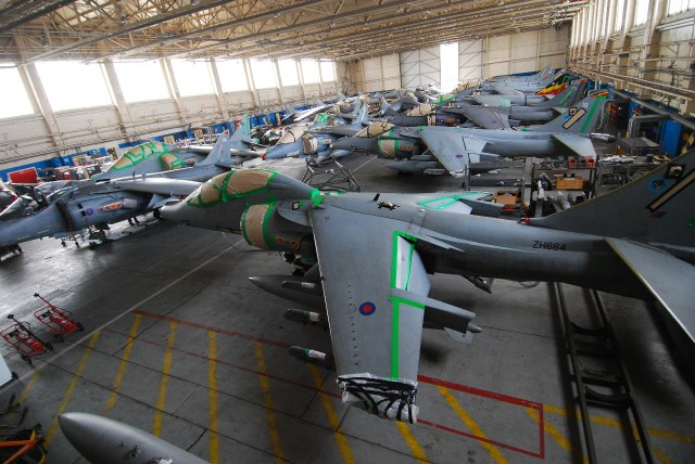 Squadron Hangar, 14 March 2011