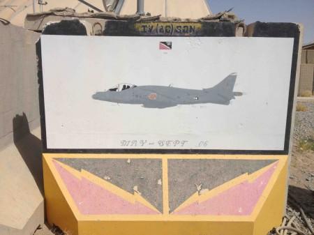 IV Sqn Painting Kandahar