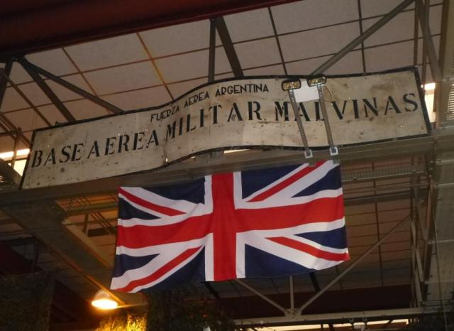 Falklands Spoils of War HFA Wittering Dec 2014. Photo: Pete Mears