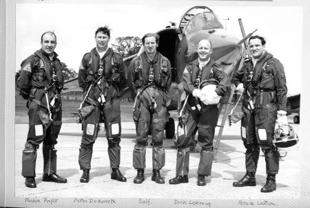 The Harrier Team in 1969