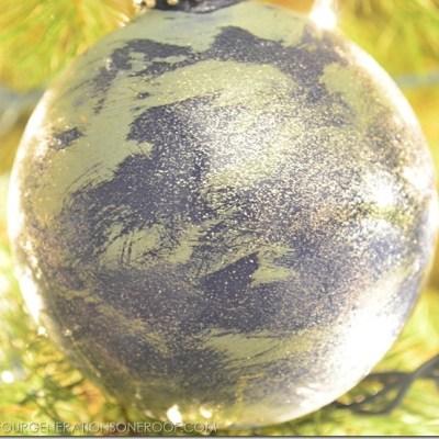 Annie Sloan Chalk Paint Christmas Ornament
