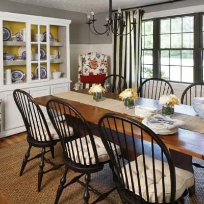 DIY board and batten tutorial {dining room}