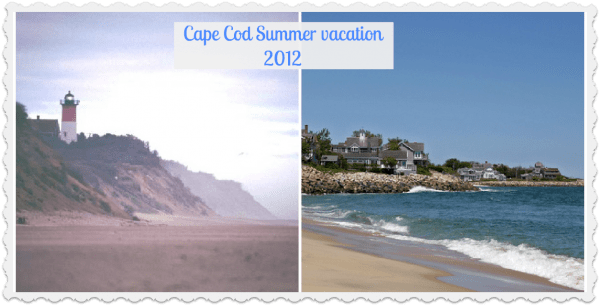Cape Cod summer vacation