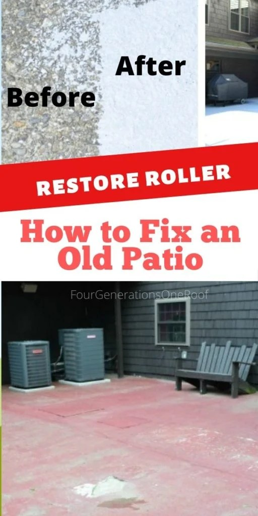 how to repair a cracked and old cement