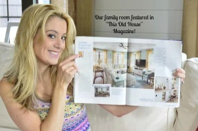 This old house magazine feature