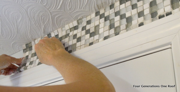 how to install mosaic tiling tutorial