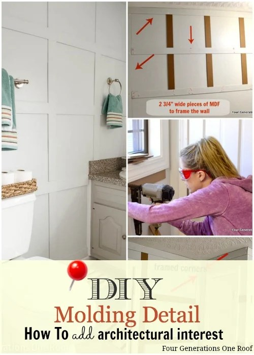 how to add board and batten diy