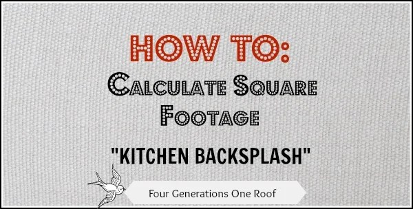 how to calculate square footage for a