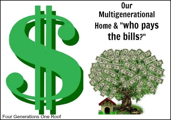 multigenerational home + finances