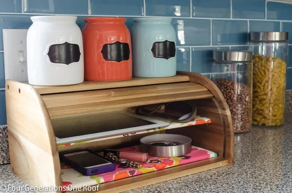 Easy organization projects diy cell phone charging station