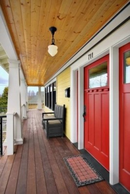 bold red front door color ideas 2