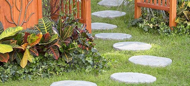 creative stone paths