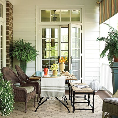 multifunctional covered porches
